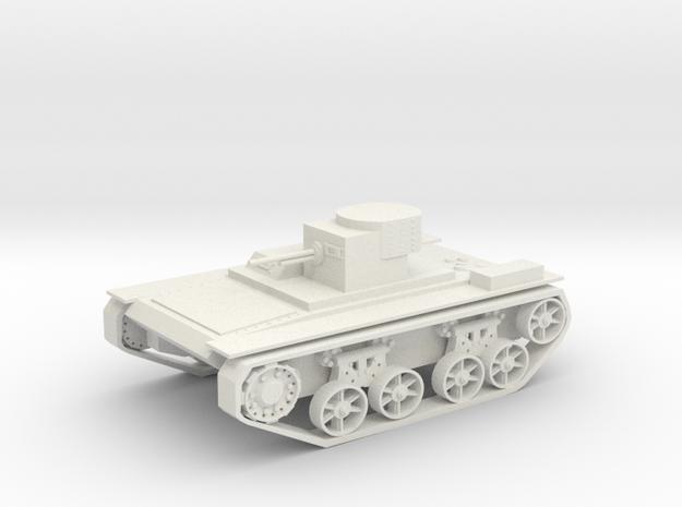 Tank T38 in White Natural Versatile Plastic