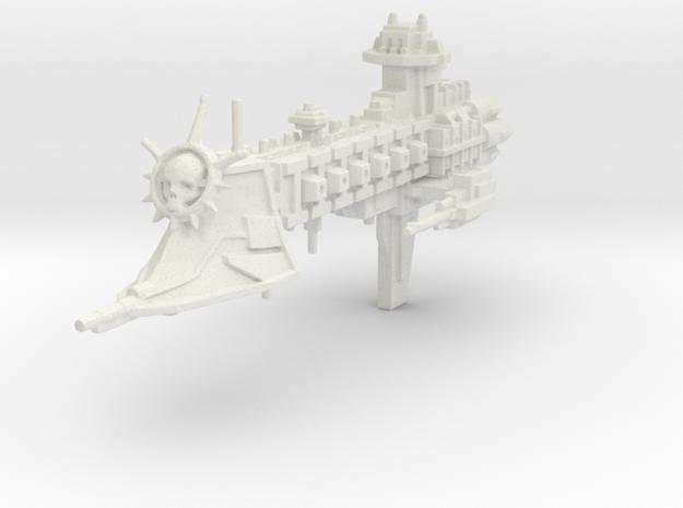 """Crucero de la Guardia de la Muerte """"Green Heart"""" in White Natural Versatile Plastic"""