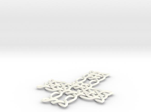 Celtic knot cross 3d printed