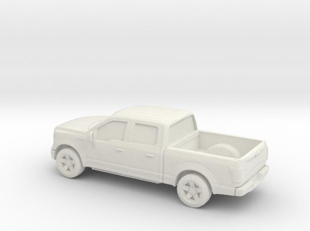 1/72 2015 Ford F 150 Crew Cab in White Natural Versatile Plastic