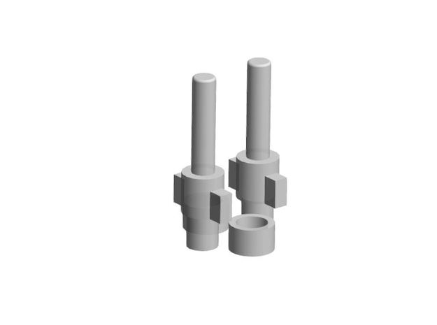Korbanth AS2 Switch Plungers in Smooth Fine Detail Plastic