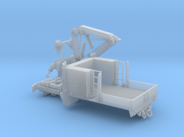 MOW Truck With Crane 1-87 HO Scale