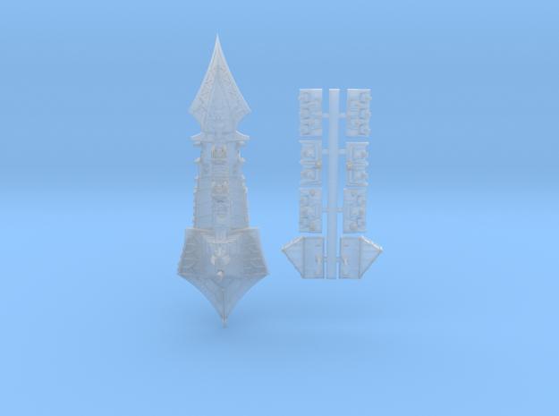 Tzeechen_3_cruiser in Smooth Fine Detail Plastic