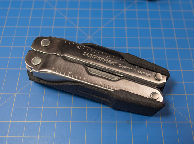Holster for Leatherman ST300 in Black Natural Versatile Plastic: Small