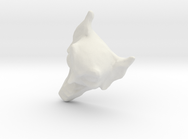 Maximum Overdrive Goblin 1/25 in White Natural Versatile Plastic