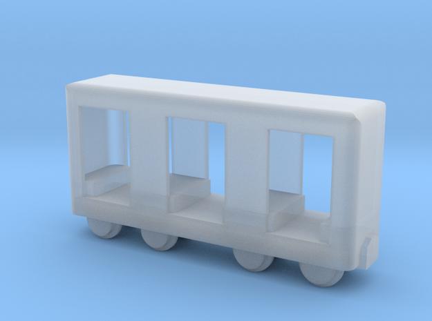 Grubenbahn Perseonenwagen V1 - Nf 1:160 in Smooth Fine Detail Plastic