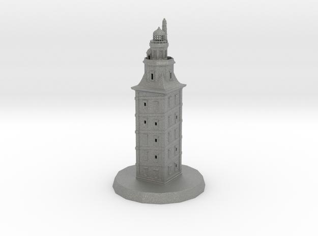 Torre de Hércules in Gray PA12
