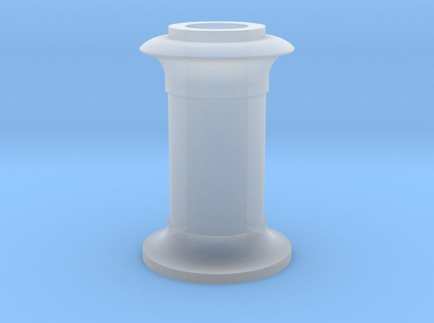 4DPGW001 - Replacement GWR 64xx Chimney (00 EM P4) in Smooth Fine Detail Plastic