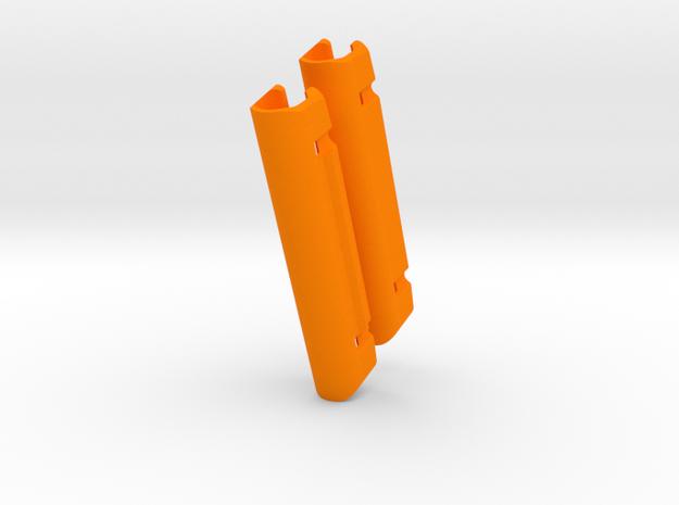 DM368  pg478C  dual 73mm in Orange Processed Versatile Plastic