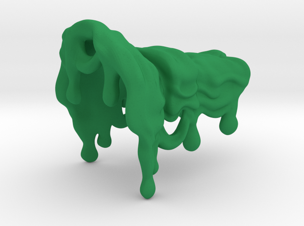 Spotlight Slime V1 without bubbles in Green Processed Versatile Plastic