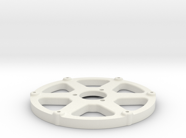 Rear Spokes for Roadies /GRP (BWE-014346) in White Natural Versatile Plastic