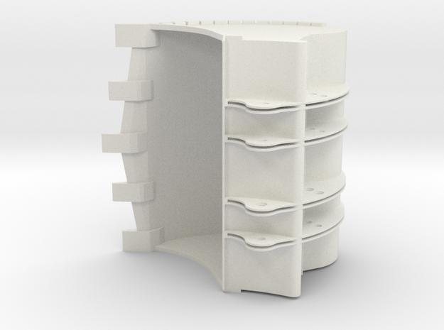 backhoe bucket for 42100 in White Natural Versatile Plastic