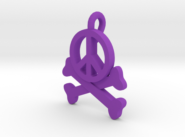 Homicidal Pacifist 3d printed