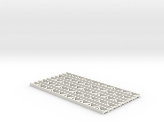 Zirkuszeltmast 70mm 5erSet - 1:120 - TT in White Natural Versatile Plastic