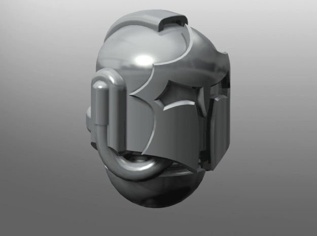 Lacedaemoni pattern Prime Helmet in Smooth Fine Detail Plastic: Small