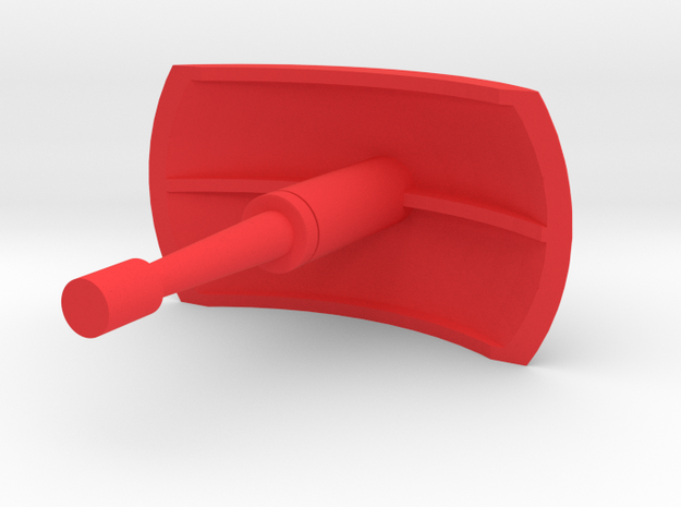Rescue Bird Base RADAR in Red Processed Versatile Plastic
