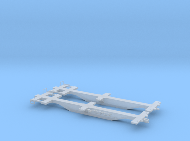 Spline Car - HOscale in Smooth Fine Detail Plastic