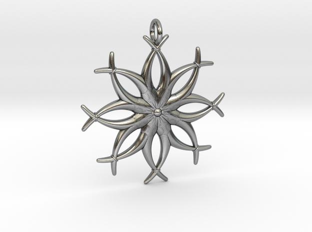 Axiom in Antique Silver