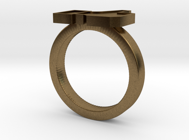 DisLike ring 3d printed