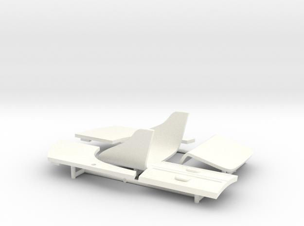 BERLINE PART 5 in White Processed Versatile Plastic
