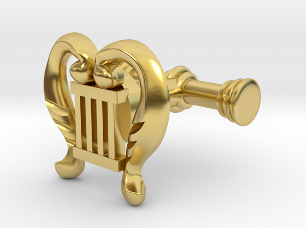 Good Omens: Aziraphale's Cuff Links in Polished Brass
