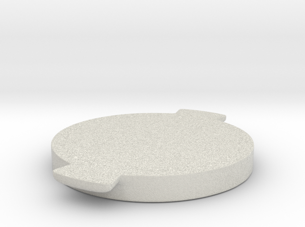 Beer Can_screw in Natural Full Color Sandstone