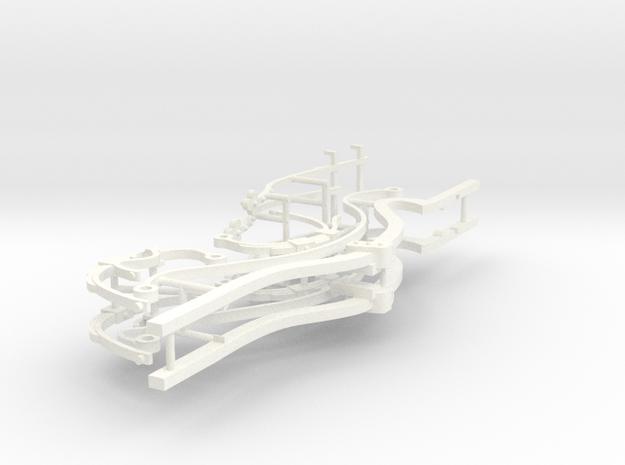 BERLINE PART 4.3  in White Processed Versatile Plastic