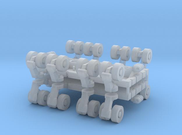 SPMT 8 Achslinien 2erSet - 1:120 TT in Smooth Fine Detail Plastic