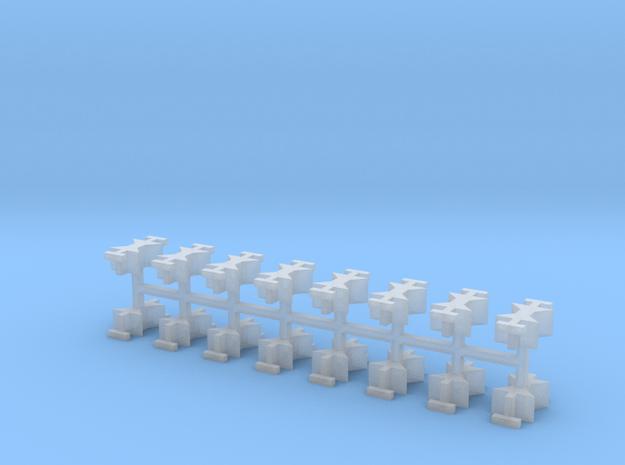 SPMT V2 Verbinder/Kuppelstücke 16erSet 1:160 N in Smooth Fine Detail Plastic
