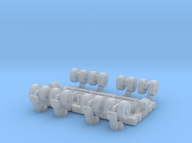 SPMT 8 Achslinien 1:160 N in Smooth Fine Detail Plastic