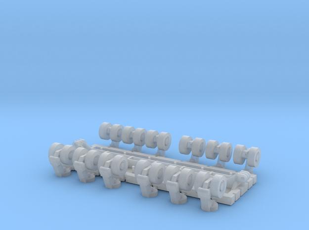 SPMT 12 Achslinien 1:160 N in Smooth Fine Detail Plastic