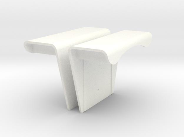 john deere 6030 4520 fenders in White Processed Versatile Plastic