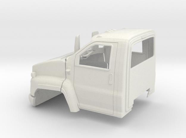1/25 2003-09 GMC C7500 Regular Cab in White Natural Versatile Plastic