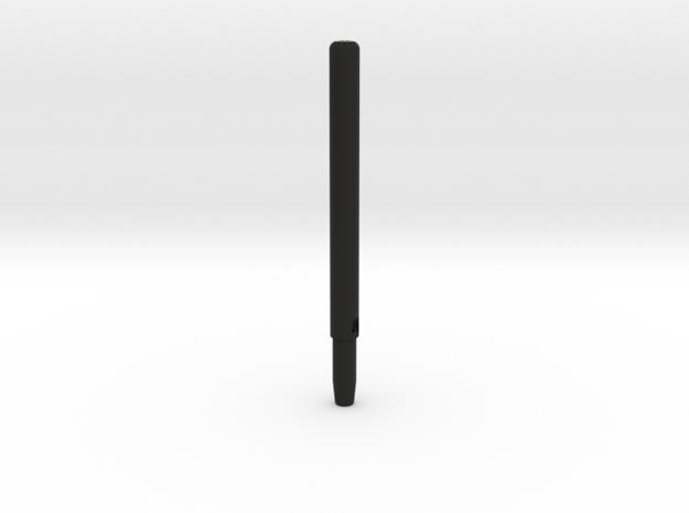 Rail 120mm Verlängerung V1.0 in Black Natural Versatile Plastic