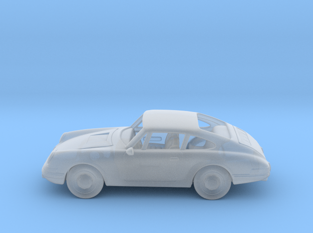 Porsche 911 S 1963 1:160 N in Smooth Fine Detail Plastic