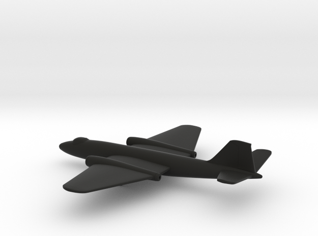 Martin B-57A Canberra in Black Natural Versatile Plastic: 6mm