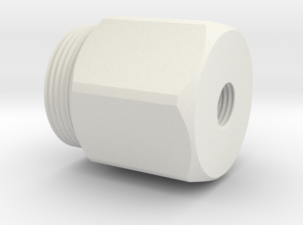 08.02.08.02 Oxy Valve Body Upper in White Natural Versatile Plastic