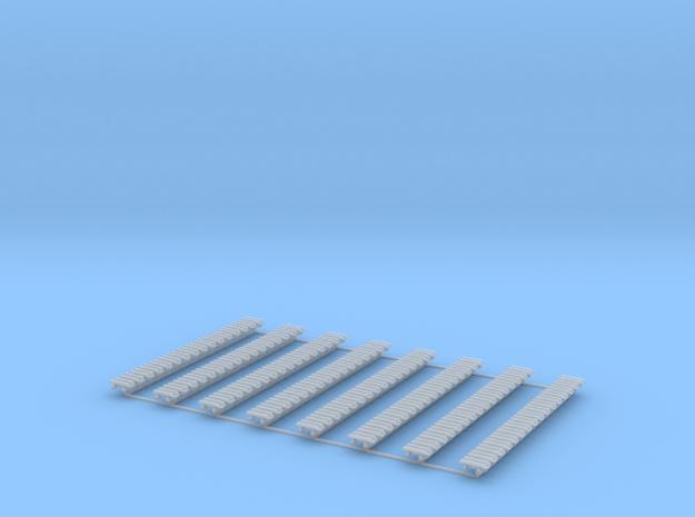 Kette 2 steg 12mm (600 mm) innen 5mm 1:50 128 Glie in Smooth Fine Detail Plastic