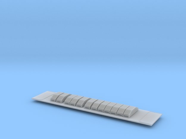 Scala N - FS E652 reostati Fusani in Smooth Fine Detail Plastic