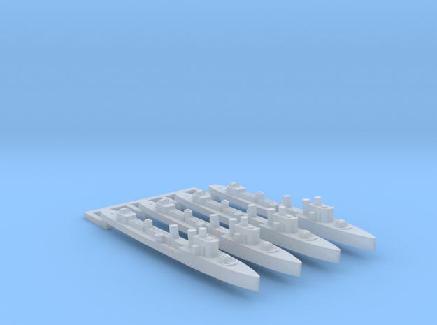4pk sprue Turbine class destroyer 1:4800 WW2 in Smooth Fine Detail Plastic