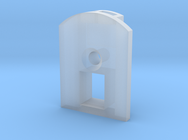 Trainmaster Draft Gear Lid in Smooth Fine Detail Plastic