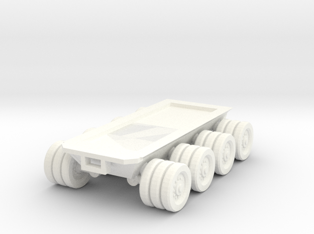 15mm scale 8x8 chassis in White Processed Versatile Plastic