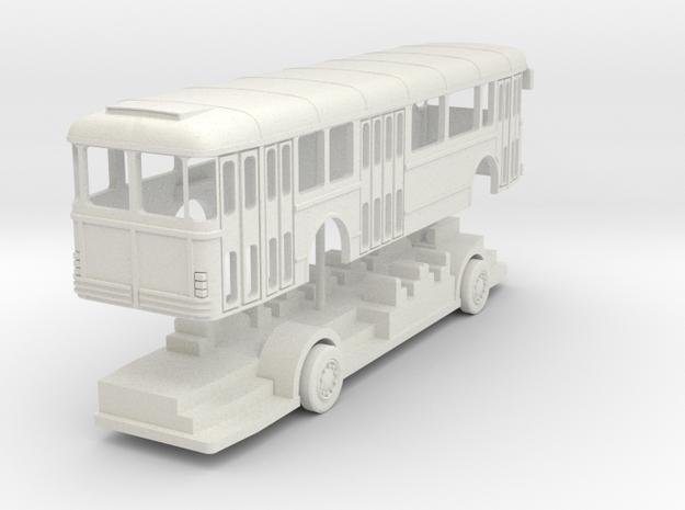 bus SC10 ECHELLE TT in White Natural Versatile Plastic