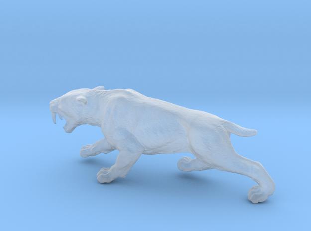 Smilodon in Smooth Fine Detail Plastic: 1:87 - HO