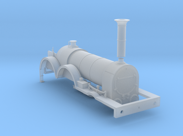 BROAD 2-4-0 Victoria - Body in Smooth Fine Detail Plastic
