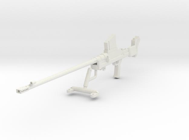 1:16 Boys Anti-Tank Rifle Mark I* in White Natural Versatile Plastic