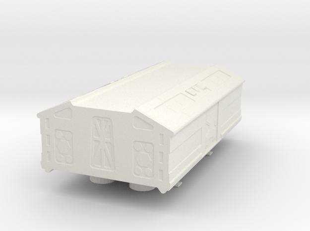 "8"" Eagle Passenger Pod (part #3) in White Natural Versatile Plastic"