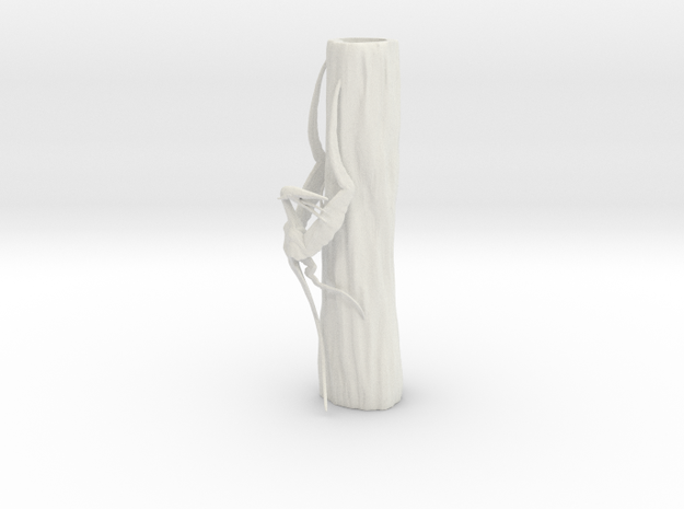 Scythe Wing in White Natural Versatile Plastic