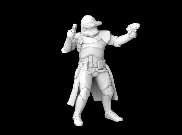 (Legion) Commander Bly in Smooth Fine Detail Plastic