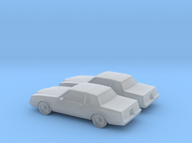 1/160 2X 1985 Buick Regal in Smooth Fine Detail Plastic